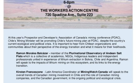 Canadian Lithium Mining and the Impacts of the Energy Transition
