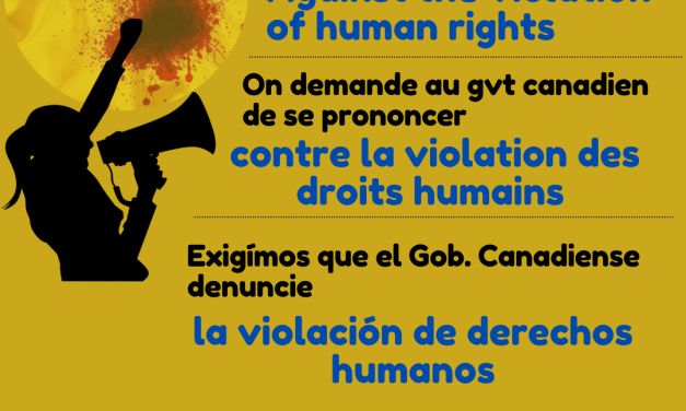 Day of Action – Solidarity with Colombians protesting state violence